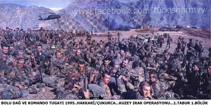 1995 Celik Harekati TSK personeli.jpg