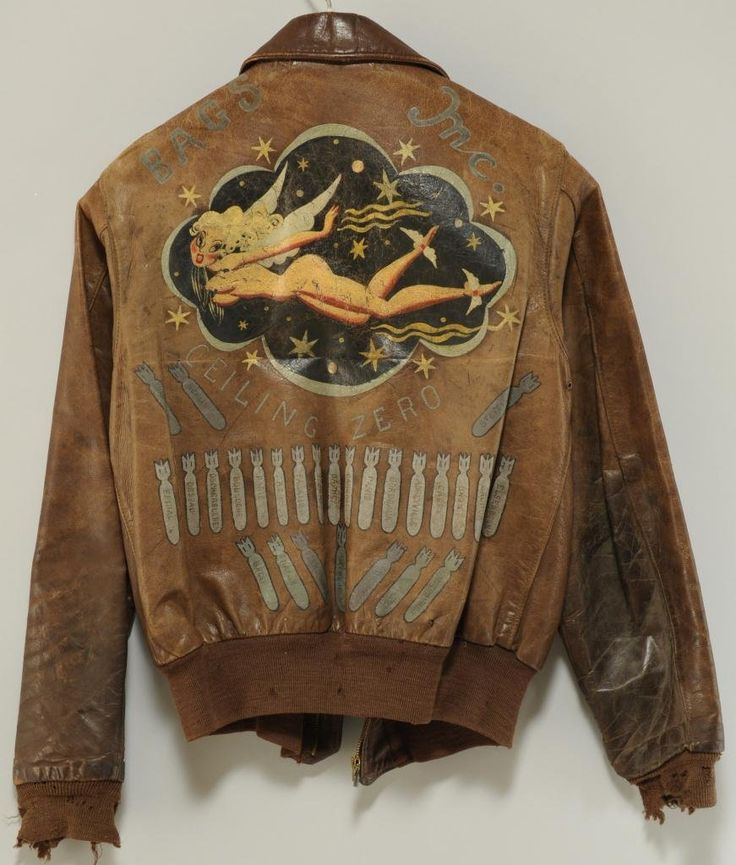 Photos - Ww2 Bomber Jacket Art Work | MilitaryImages.Net