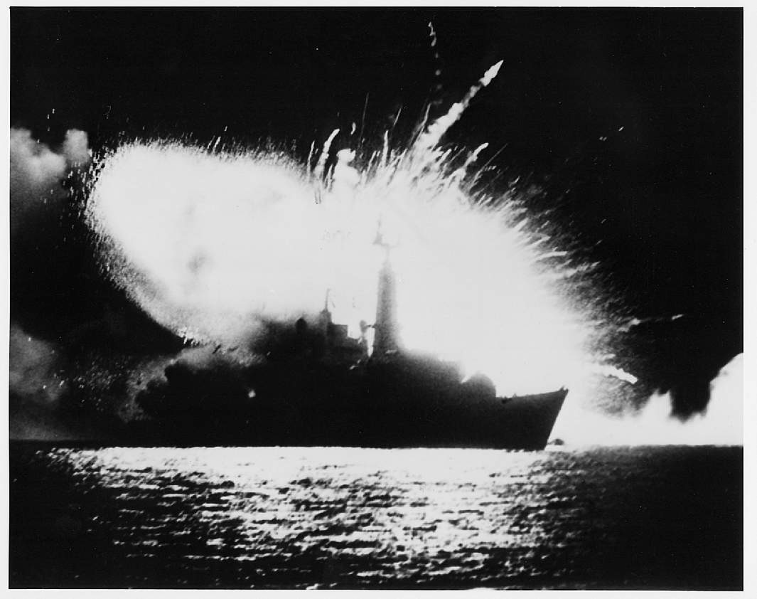 HMS_Antelope_(F170) Lost to bombs.jpg
