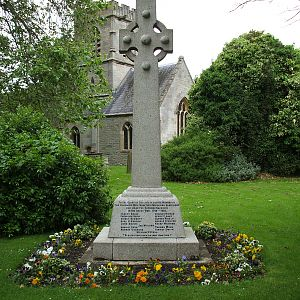 Hempsted War Memorial, Glos