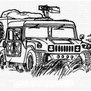 Hummer Ausmalbilder - Ultra Coloring Pages | 300x300