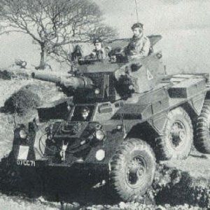 Alvis Saladin Armoured Car | MilitaryImages Net