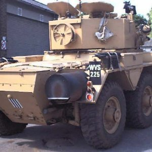 Alvis Saladin Armoured Car   MilitaryImages Net