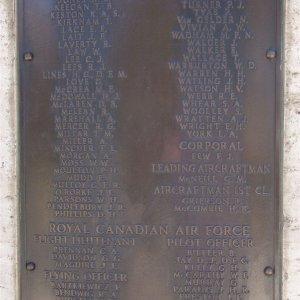 Commonwealth Airmen Memorial, Floriana, Malta
