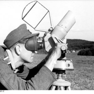 German aircraft spotter and range finder WW2 1944