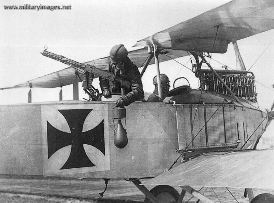 Albatros C.I - Bombing Demo | MilitaryImages.Net