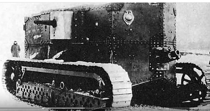 Holt Prototype Gas Electric Tank Militaryimagesnet
