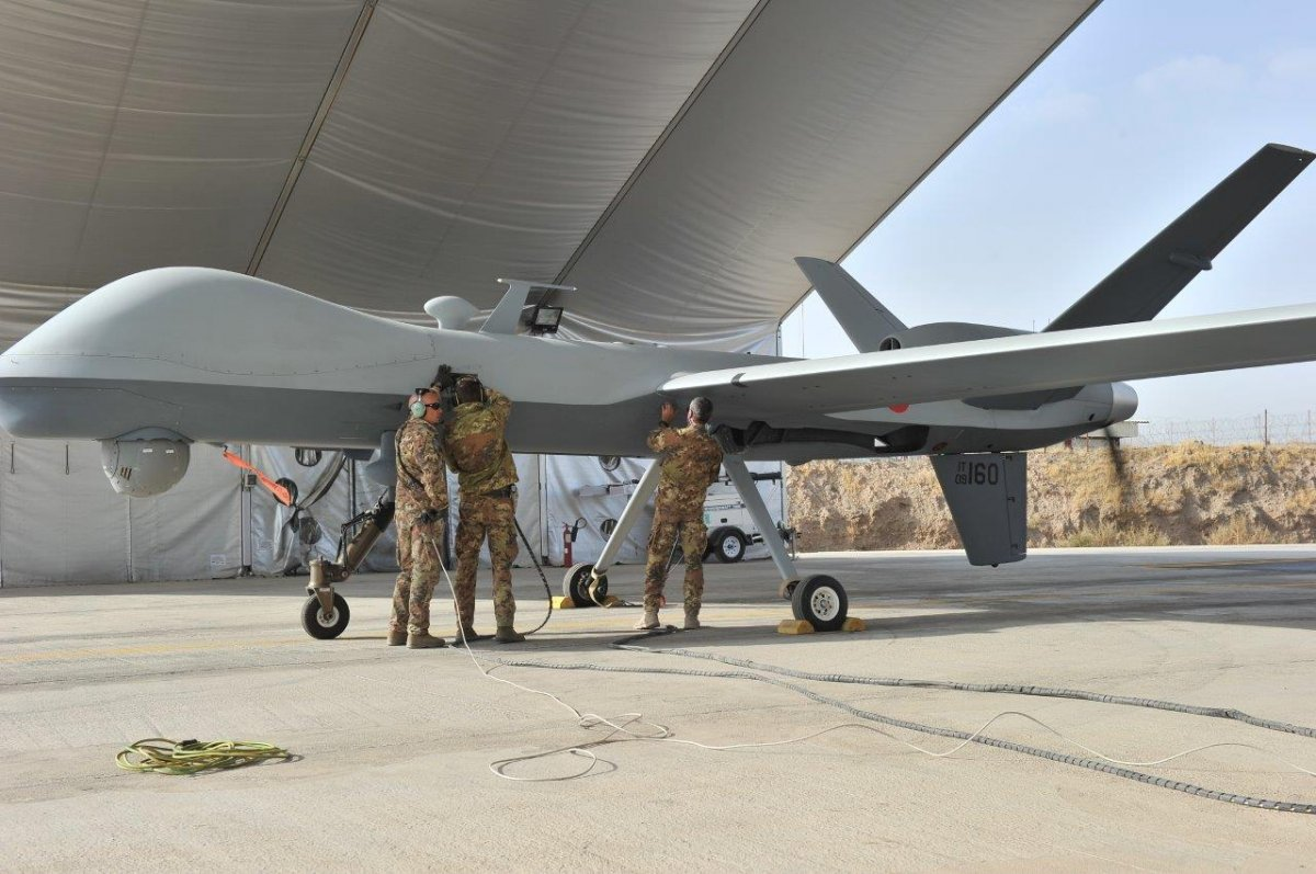 Italian Military Predator Drone 02