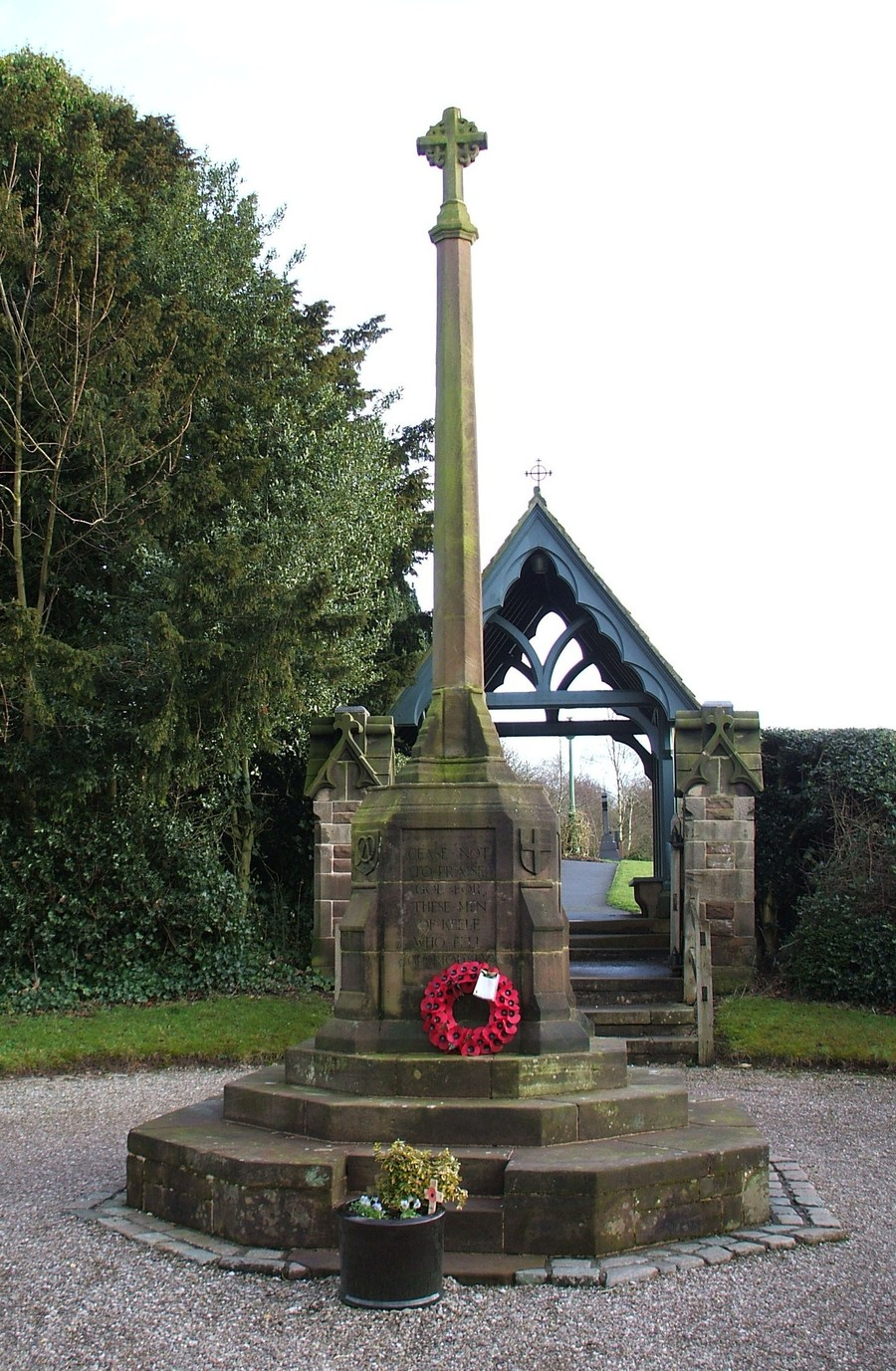 Keele War Memorial, Staffordshire | MilitaryImages Net