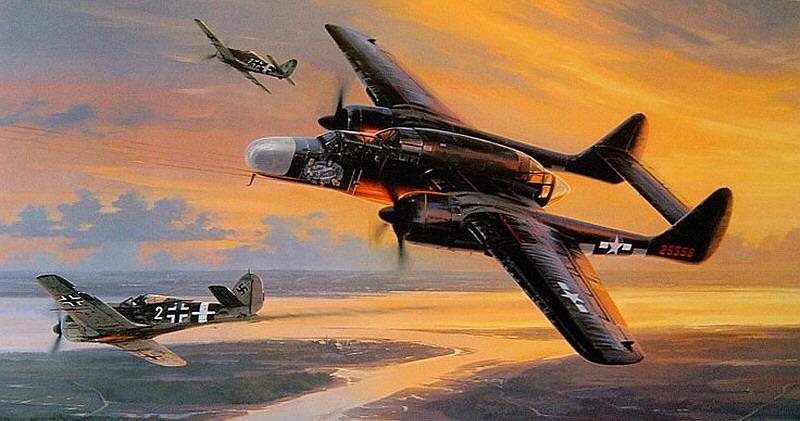 II. Dünya Savaşının uçakları: Northrop P-61 Black Widow