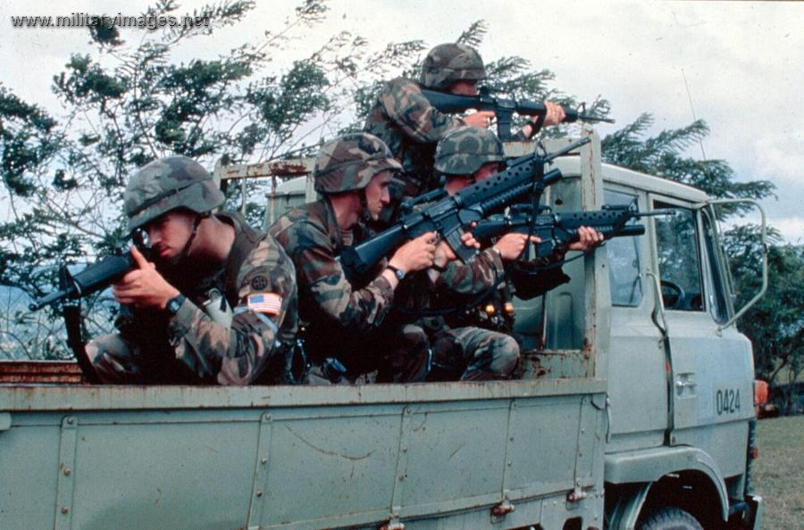 "the us invasion of panama in 1989 and its results The raid into panama was the largest us combat operation since the vietnam war at the time the us trotted out various ""noble justifications"" the narrative."