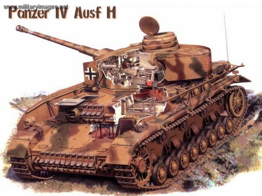 German Panzer IV - Workhorse of the Wehrmacht in Photos