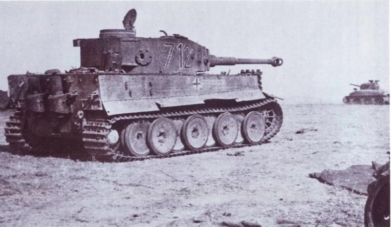 Tiger Tank 712