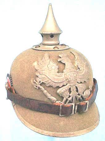 WW1 German Helmut   MilitaryImages Net