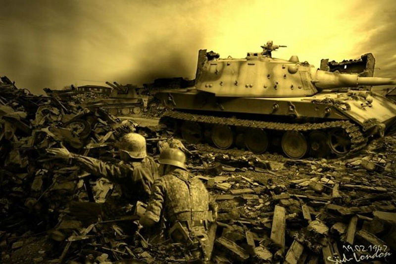 WW2 tank art | MilitaryImages Net